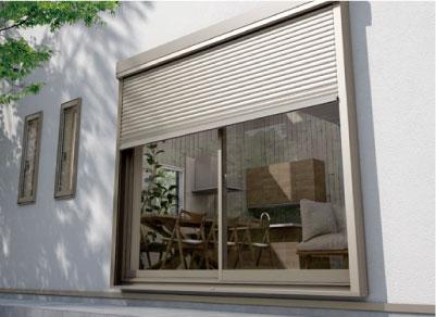 窓とシャッター