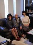 優しい笑顔が印象的な飯田様ご家族