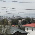 ベランダからは町田と遠くには丹沢が見えます。
