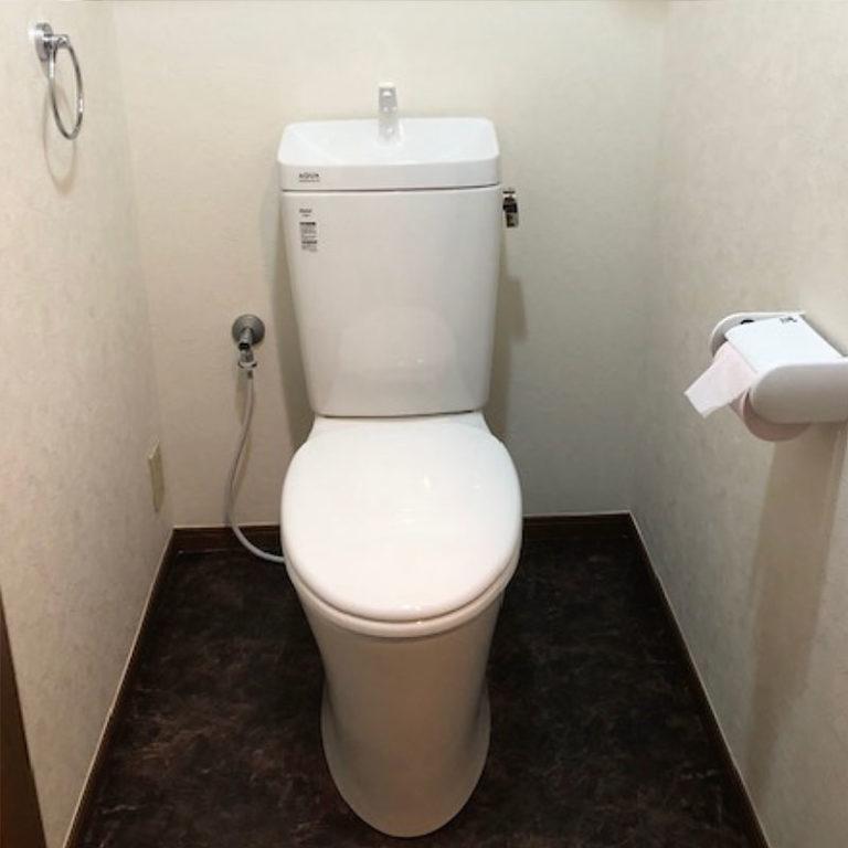 マンショントイレ交換 After