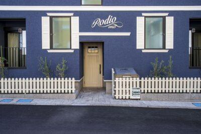 【木造耐火建築物】「Podio Uno」木造地上3階建て共同住宅 231.11㎡ 外観